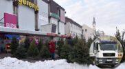 Obavijest o odvozu božićnih drvaca